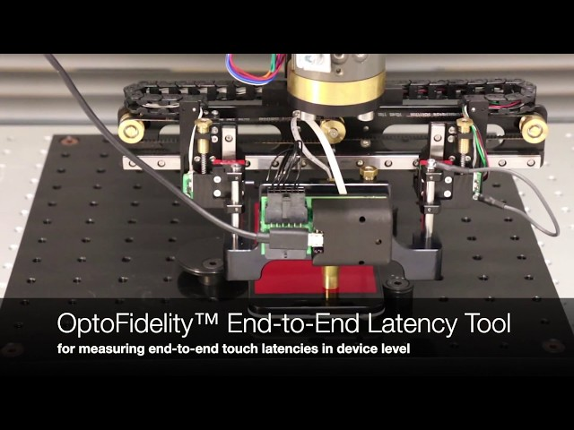 OptoFidelity™ End-to-End Touch Up & Down Latency Tool