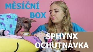 Měsíční box - Sphynx ochutnává /LEA