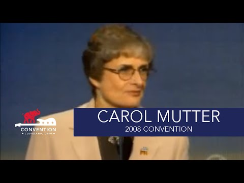 The Challenges We Face in Iraq | Lt. General Carol Mutter, USMC Ret | 2008 Republican National Conv