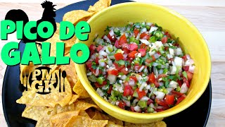 Pico De Gallo - Salsa Fresca or Salsa Cruda - PoorMansGourmet