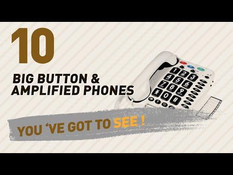 Big Button & Amplified Phones, UK Best Sellers 2017