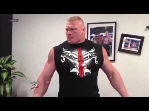 "Brock Lesnar ""Destroys"" Triple H"
