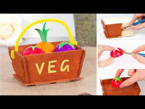 How to make a Vegetable Basket