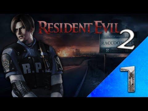 Resident Evil 2 Leon Parte 1 HD Portugues