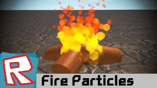 [ROBLOX Tutorial] - Fire Particles