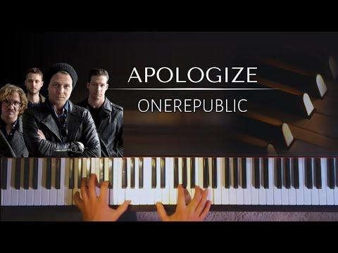 One Republic - Apologize + PIANO SHEETS