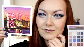 Парижские страсти с BH Passion in Paris palette BH cosmetics обзор макияжи свотчи