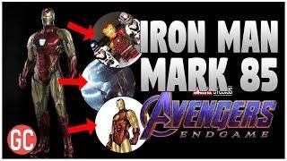 ¡Así Sera La Armadura De Iron Man En Avengers 4: Endgame! ¿Mark 85 El Traje Definitivo?