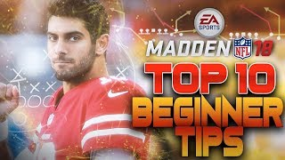 Madden NFL 18 Top 10 Tips - Take Your Game to the Next Level!