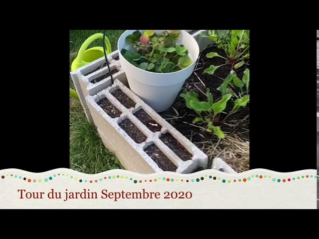 Tour du jardin Septembre 2020