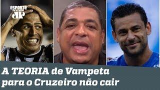 """""""A MALA CHEGA!"""" Vampeta POLEMIZA e explica por que acha que o Cruzeiro NÃO cai!"""