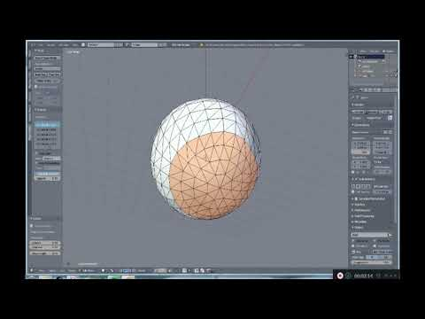 From 3D to paper model using blender : The basics