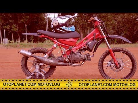 Motovlog #4 Yamaha F1zr Bebek Standar Grasstrack