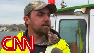 This fisherman, who likes Trump, has a message for the President