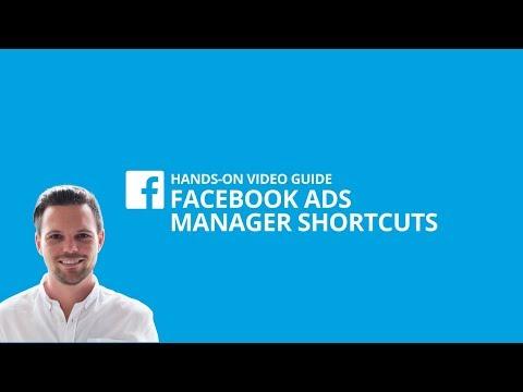 Wie du mit Shortcuts im Facebook Ads Manager Zeit sparst [#7 HANDS-ON VIDEO GUIDE]