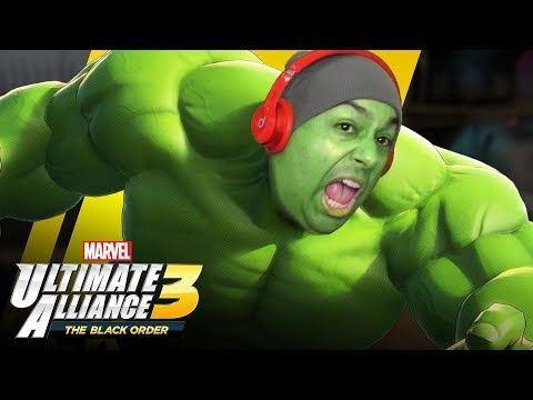 THEY CALL ME THULK... GET IT CAUSE ITS LIKE THICK PLUS... [MARVEL ULTIMATE ALLIANCE 3]