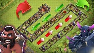 PEKKA vs BİNİCİ !! TROLL DÜZEN ! | Clash Of Clans