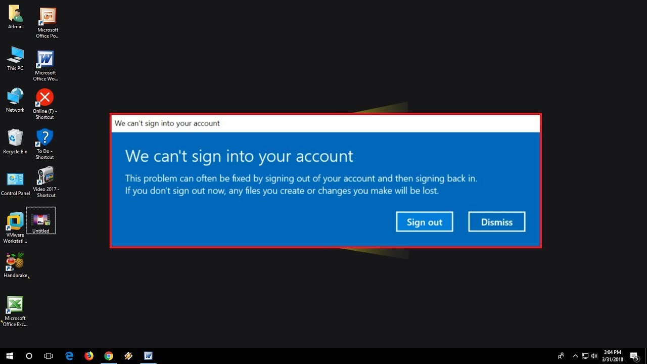 cant sign into my microsoft account