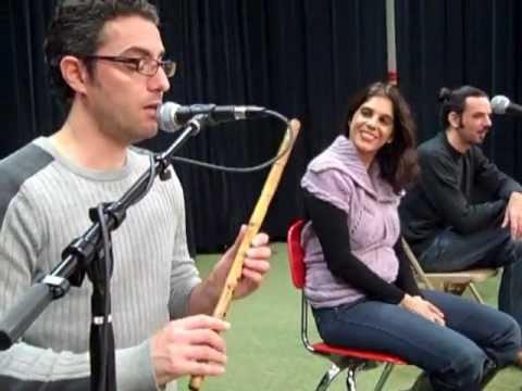Israeli traditional music workshop