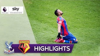 3. Sieg der Eagles in Folge! | Crystal Palace - FC Watford 1:0 | Highlights - Premier League 2019/20