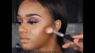 Как правильно нанести макияж видео уроки