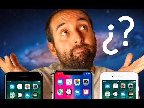 iPHONE X, iPHONE 8 o iPHONE 7, ¿cuál elegir y comprar?