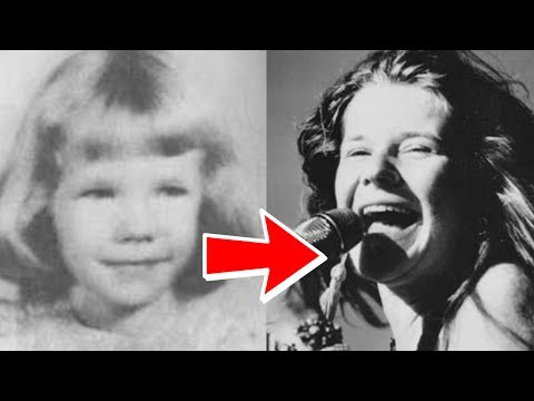 Janis Joplin from 1 to 27 years old