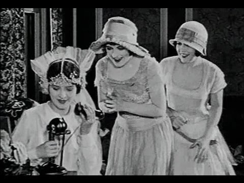 """""""The Hansom Cabman"""" (1924) starring Harry Langdon and Marceline Day"""