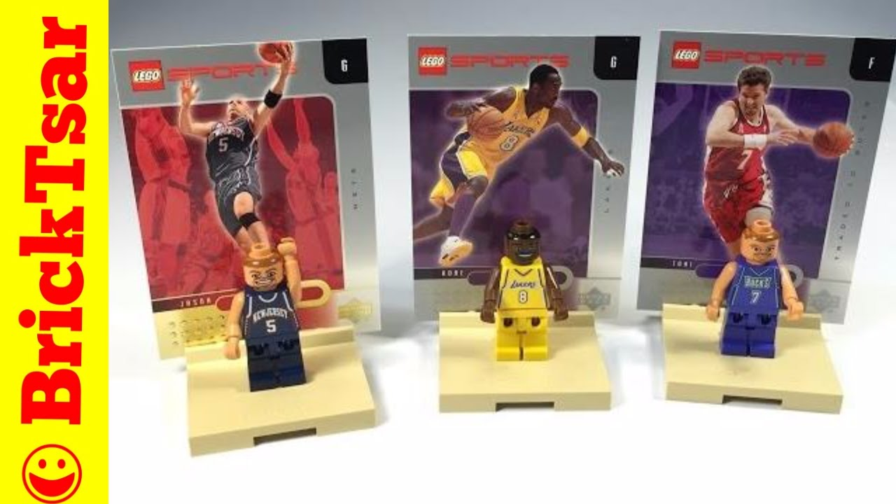 LEGO NBA Collector Basketball Set 3563 Minifigures Kobe ...