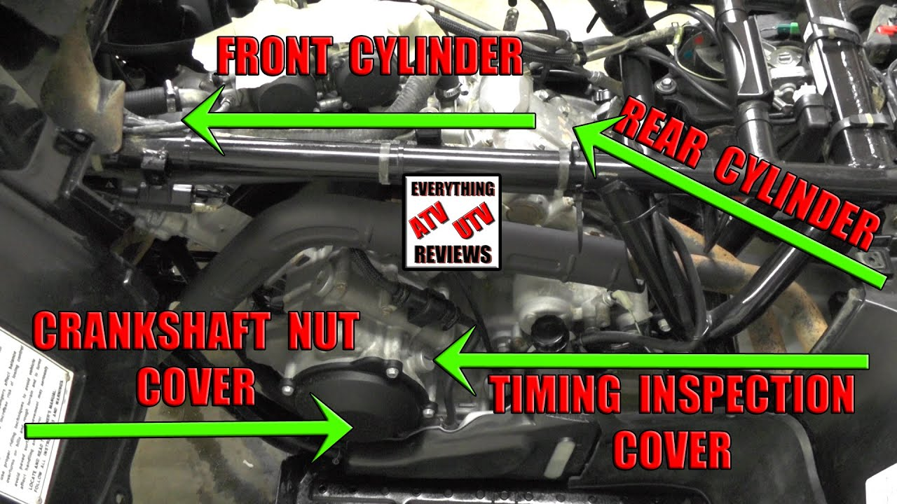 4 6 Timing Marks Diagram International Tractor Wiring Brute Force - Prairie 650 Valve Adjustment Information: Tinging, Pinging, Backfiring, Hard To ...