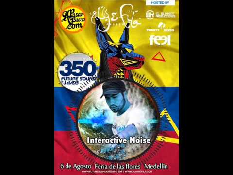 Interactive Noise – Live @ FSOE 350, Club El Rodeo (Medellin, Colombia) – 06.08.2014