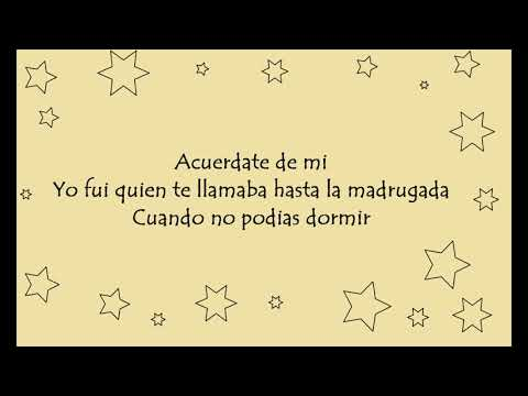 Matisse - Acuérdate de Mí (Acústico) Letra