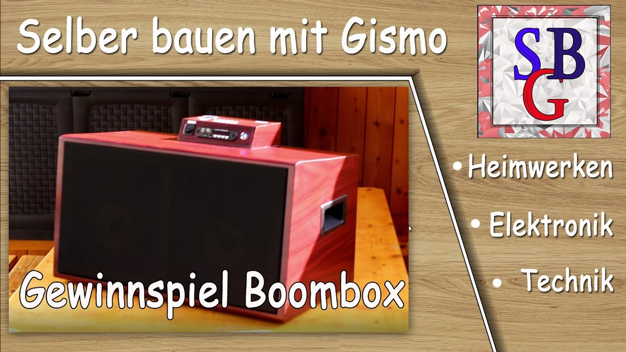 gewinnspiel verlosung von einer bluetooth boombox youtube. Black Bedroom Furniture Sets. Home Design Ideas