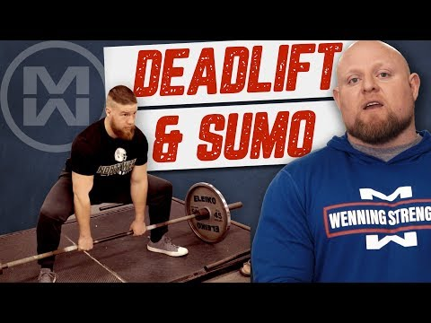 Deadlifts Conventional and Sumo Explained!