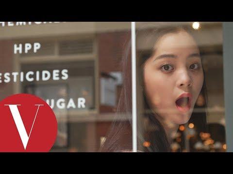 17歲歐陽娜娜紐約找樂子