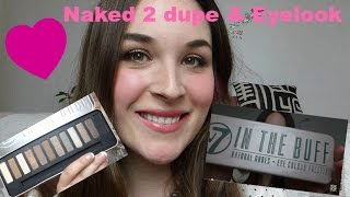 naked 2 dupe soft neutrals smokey eye w7 in the buff