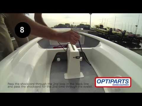 Daggerboard Bungy With Handle, EX1113, Made By Optiparts