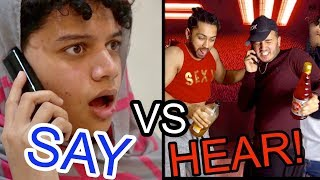 What we SAY to moms vs  what they HEAR |Shahveer Jafry |Suny Jafry Funny Video