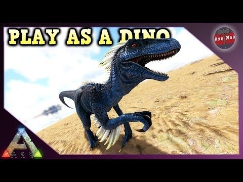 PLAY AS A DINO, THE RAPTOR | ARK SURVIVAL EVOLVED