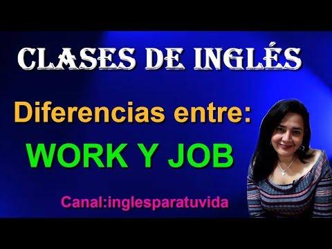 Q quiere decir work en ingles