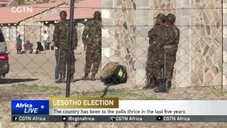 Vote counting under way in Lesotho amid low voter turnout