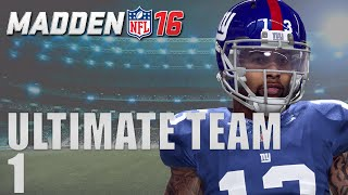 Madden 16 Ultimate Team - Back to Back Ep.1