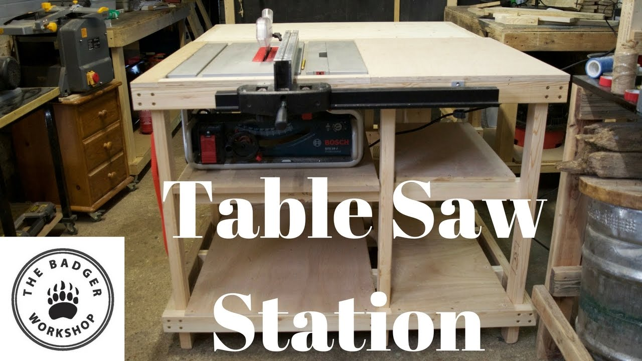 Table saw station for bosch gts 10 j with axminster fence youtube table saw station for bosch gts 10 j with axminster fence keyboard keysfo Choice Image