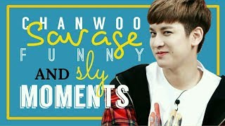 Gambar cover Chanwoo Savage, Funny and Sly Moments