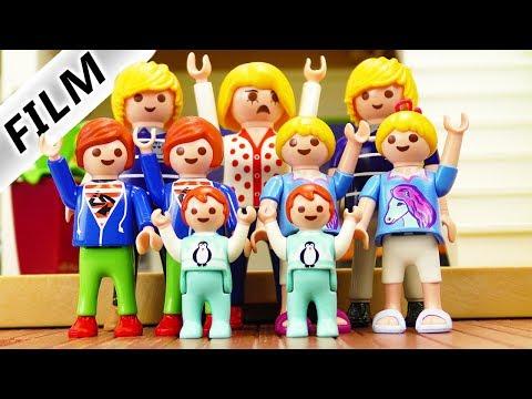 Playmobil Film Deutsch WENN FAMILIE VOGEL NUR ZWILLINGE HÄTTE! DOPPELTE LADUNG: JULIAN, EMMA, HANNAH