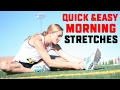 6 Quick & Easy Morning Stretches You Can Do In Bed To Feel Great All Day