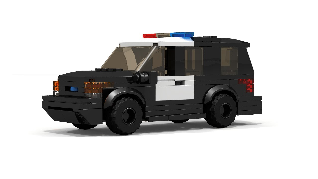 2016 Ford Bronco >> LEGO Ford Explorer Police Interceptor Instructions - YouTube