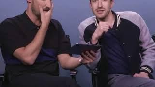 Joe Mazzello and Gwilym Lee react to Tumblr posts