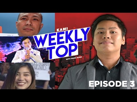 Kami weekly TOP - Noven Belleza, Rodrigo Duterte and the Showtime surprise