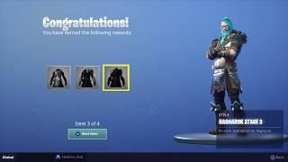 Fortnite Season 5 - Max Battle Pass! Level 100 Tier up Ragnarok Skin Unlock